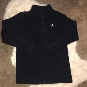 Adidas quarter zip fleece
